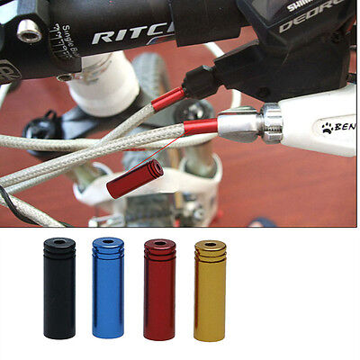 10Pcs Mountain Road Bicycle Bike Gear Brake Inner Shift Cable End Caps Crimps