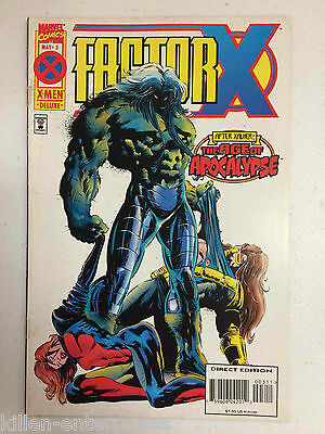 Factor X #3 Comic Book Marvel 1995 - Age of Apocalypse