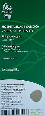 VIP TICKET Hospitality 16.8.2016 Olympia Rio Athletics Leichtathletik