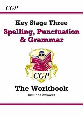 Spelling, Punctuation and Grammar for KS3 - Workbook (with answe... by CGP Books