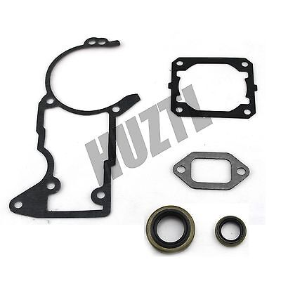 Cylinder Muffler and Crankcase Gasket Oil Seal For STIHL Chainsaw 044 MS440 NEW