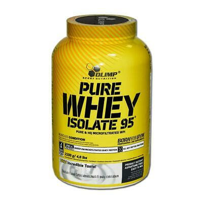 (27,27 Eur/kg) Olimp Pure Whey Isolate 95 2200g Dose Protein Eiweiß Isolat BCAA