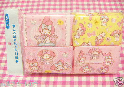 Sanrio My Melody Mini Tissue Set 8 tissues Made in Japan 2015