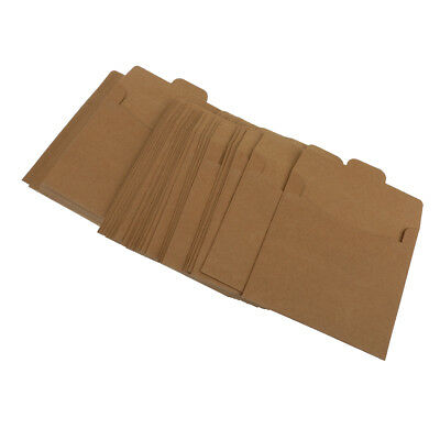 50pcs Mini Kraft BROWN Envelope Wishing Well Card RSVP for Weddings Party