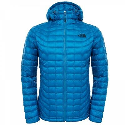 The North Face Herren Thermoball Hoodie Winterjacke Banff Blue