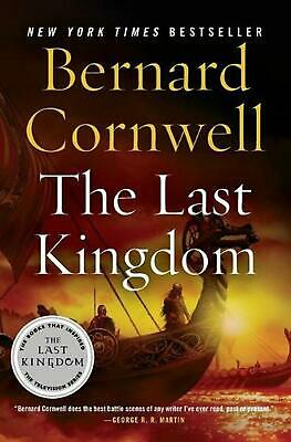 The Last Kingdom by Bernard Cornwell (English) Paperback Book Free Shipping!