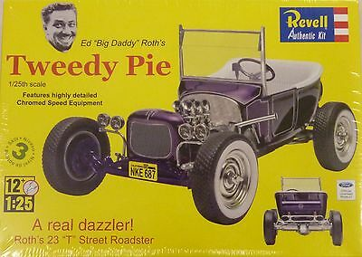 Revell 1/25 Ed Roth's Tweedy Pie Plastic Model Kit 4922