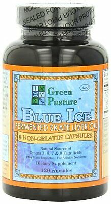 Blue Ice Fermented Skate Liver Oil - by Green Pasture - Top Omega 3 Source