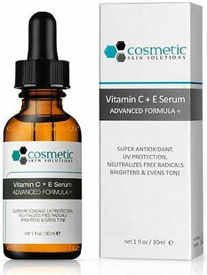 Super Antioxidant Vitamin C E Serum UV Protection by Cosmetic Skin Solutions