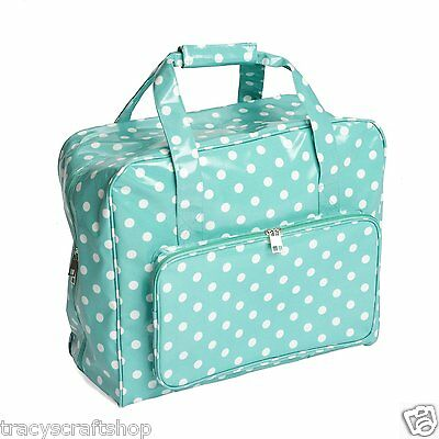 Sewing Machine Bag Sewing Machine Case Duck Egg Spot PVC Sewing Machine Bag