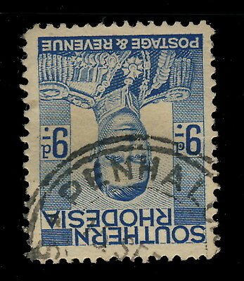 """Southern Rhodesia - Sg46 Cancelled """"penhalonga"""" Double Circle Date Stamp"""