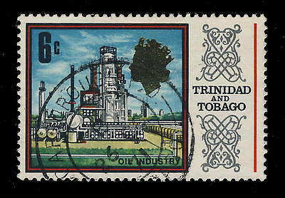 "Trinidad & Tobago - 1971 - Sg 342 Cancelled ""scarborough P.o."" Tobago Postmark"