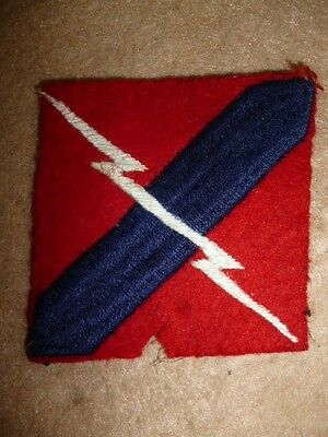33rd Anti-Aircraft Brigade Royal Artillery, Woven Formation Patch / Sign
