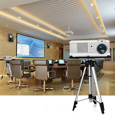 52-140cm Adjustable Laptop Computer Projector Tripod Stand DJ Office Conference
