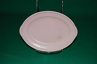 """Luray Pastels Pink 7"""" Oval Serving Platter by Taylor, Smith & T (TS&T)"""