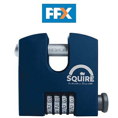 Henry Squire SHCB65 Stronghold Recodeable Padlock 4 Wheel