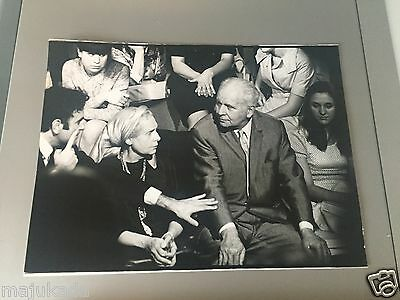 ELSA TRIOLET et LOUIS ARAGON  - PHOTO DE PRESSE ORIGINALE 24x18 cm