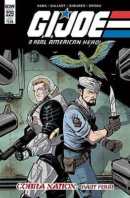 GI JOE A REAL AMERICAN HERO #229 SUBSCRIPTION VARIANT (IDW 2016 1st Print) COMIC