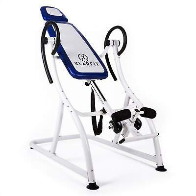 Table d'inversion sportive pro musculation inclinable 180° réglable 20 positions
