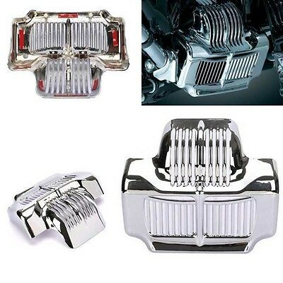 Chrome Stock Oil Cooler Cover Fit Harley Touring Electra Road Street Glide 11-15