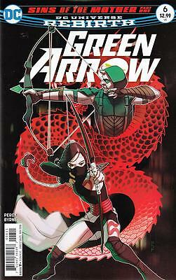 GREEN ARROW #6 (DC 2016 1st Print) Rebirth COMIC
