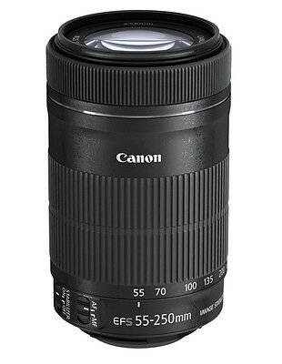 Canon EF-S 55-250mm 55-250 f/4-5.6 IS STM Telezoom Canon-Fachhändler