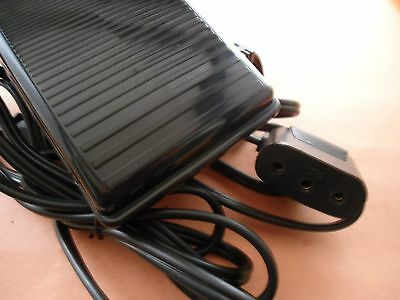 Singer 201,221,221k,222k Featherweight Power Cord Foot Control  Pedal
