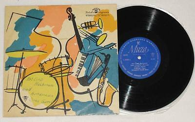 "HOT CLUB MELOMANI AMERICAN JAZZ GROUP 10"" Vinyl Jazz Muza Poland * MEGA RARE"