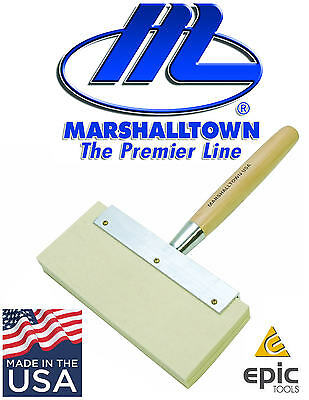 "MARSHALLTOWN 9"" Wood Grip Plasterers Felt Water Plaster Wall Big Brush,FB865"