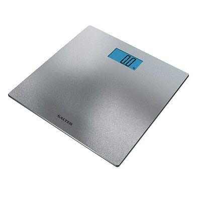 Salter Digital Bathroom Scales - Electronic Scales with Silver Glitter Finish