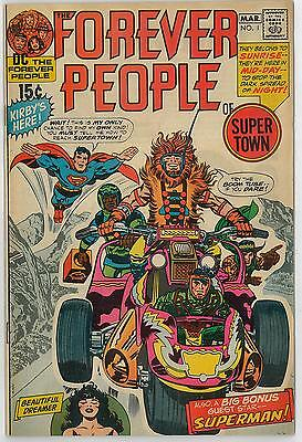 Forever People #1 VF- 1st Full DARKSEID Appearance