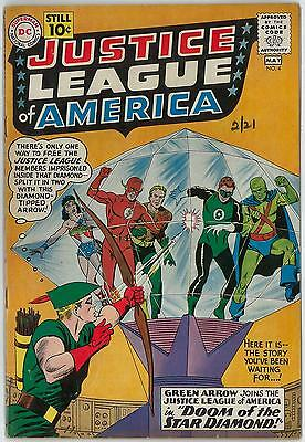 Justice League of America #4 VG+ Green Arrow Joins