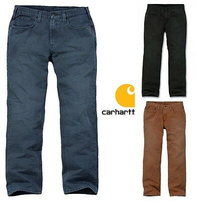 Carhartt Herren Hose Weathered Duck 5-Pocket Bundhose Arbeitshose Men Pants NEU