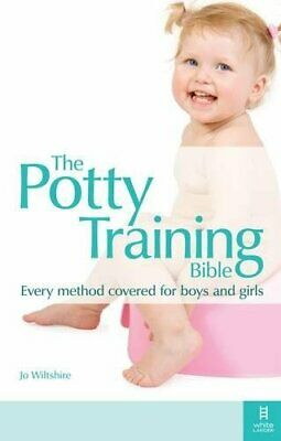 The Potty Training Bible by Wiltshire, Jo Paperback Book The Cheap Fast Free