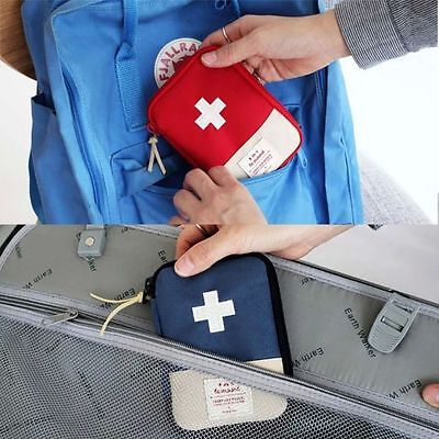 Mini Home Outdoor First Aid Bag Camping Hiking Survival Travel Emergency Kit Bag