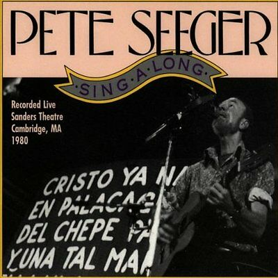 Singalong-Live At Sanders The - 2 DISC SET - Pete Seeger (1991, CD NEUF)