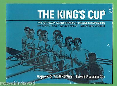 #d270.  1968  The  King's Cup  Rowing &  Sculling  Program