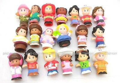 Promotion Random 10 lot Fisher Price Little People 2in. Figure Baby Boy Girl Toy