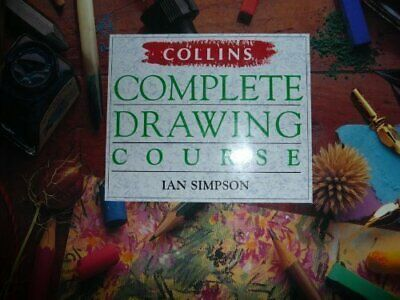 Collins Complete Drawing Course Hardback Book The Cheap Fast Free Post