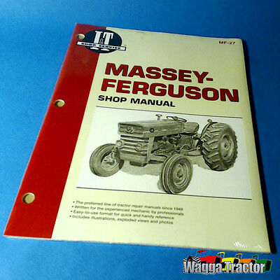 MF27 Workshop Manual Massey Ferguson MF 135 165 Tractor w Perkins 152 203 Engine