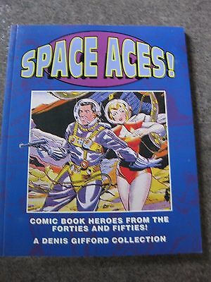 SPACE ACES! Comic Book HEROES 1940-50's COLOR COVERS & Text Info MINT CONDITION