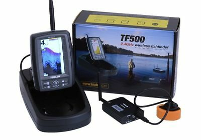 Toslon TF500 Colour Wireless Fish / Feature Finder. RC distance 300m, Depth 40m