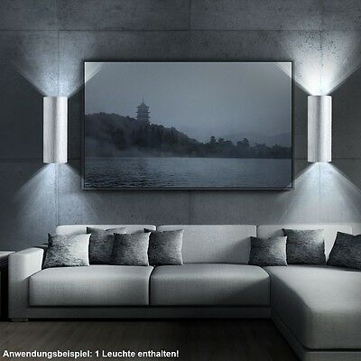 wandleuchte wandlampe ip44 led halogen innen au en up down. Black Bedroom Furniture Sets. Home Design Ideas