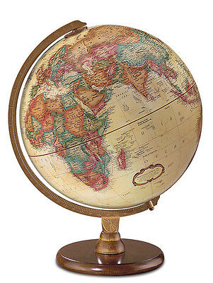 "Replogle Globes Hastings 12"" Antique French or English World Globe"