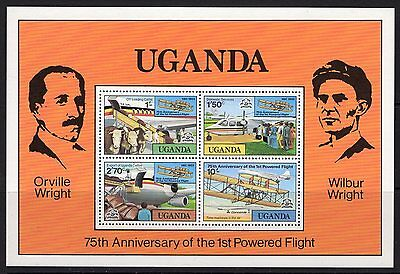Uganda Sgms233 1978 Powered Flight Mnh