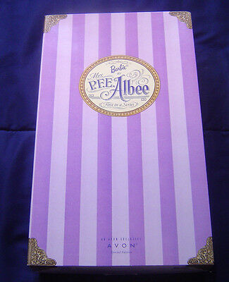 Barbie as Mrs. PFE Albee First In A Series * Special Edition from Avon NIB