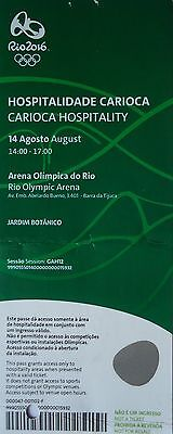 VIP TICKET Hospitality 14.8.2016 Olympia Rio Athletics Leichtathletik