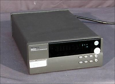 Fluke 2640A Netdaq Networked Data Acquisition Unit With 2645A Input Module