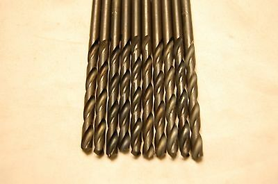 Letter Size F Drill Bits (Qty of 10 Bits)