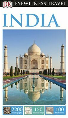 DK Eyewitness Travel Guide India (Eyewitness Travel Guides) 2014 by DK Book The